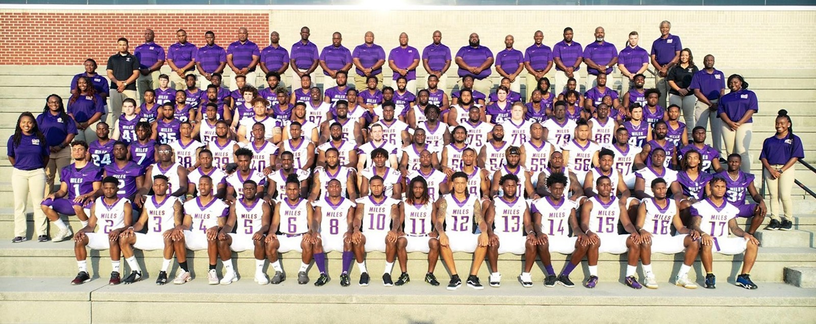 2018 Football Roster Miles College Athletics